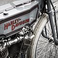 Vintage Racing Harley by Tim Gainey