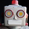 Vintage Robot 1 Dt by Edward Fielding