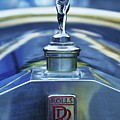 Collectible Logo And Emblem On A Vintage Rolls Royce by Poet's Eye