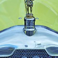 Collectible Vintage Rover Hood Ornament by Poet's Eye
