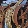 Vintage Rusty Machine by Linda Phelps