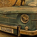 Vintage Rusty Renault Truck by Design Turnpike
