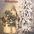 Vintage Santa  by Pam  Holdsworth