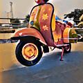 Vintage Scooter by Satyajit Kharkar