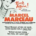 Vintage Show Poster Marcel Marceau by Edward Fielding