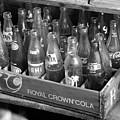 Vintage Soda Case  by David Lee Thompson