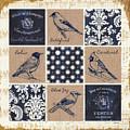Vintage Songbirds Patch by Debbie DeWitt