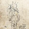 Vintage Space Suit Patent by Dan Sproul