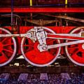 Vintage Steam Train Wheels by Alexander Senin