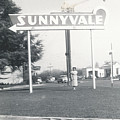 Vintage Sunnyvale Sign by Alan Espasandin