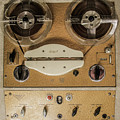 Vintage Tape Sound Recorder Reel To Reel by Tom Conway