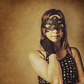 Vintage Theatre Show Girl  by Jorgo Photography - Wall Art Gallery