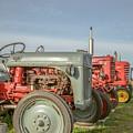 Vintage Tractors Prince Edward Island by Edward Fielding