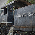 Vintage Train by Jost Houk
