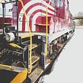 Vintage Train Locomotive by Edward Fielding