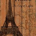Vintage Travel Paris by Debbie DeWitt