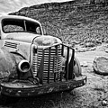 Vintage Truck by Delphimages Photo Creations