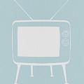 Vintage Tv Poster by Naxart Studio