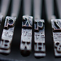 Vintage Typewriter Keys by June Marie Sobrito