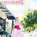 Vintage Val Ice Cream Parlor by Jill Wellington