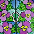 Vintage Violets by Laurie Morgan