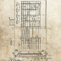 Vintage Voting Machine Patent by Dan Sproul