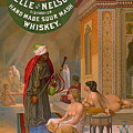 Vintage Whiskey Ad 1883 by Padre Art