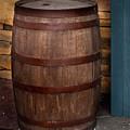 Vintage Wine Barrel by David Millenheft