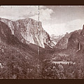Vintage Yosemite Valley 1899 by John Stephens