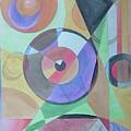 Vinyl Eye by Melina Mel P