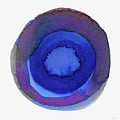 Violet Drops 1- Art By Linda Woods by Linda Woods