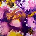 Violet Explosion  by Denise Mc Nellis