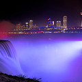 Violet Falls  by Michael Ver Sprill