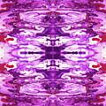 Violet Groove- Art By Linda Woods by Linda Woods