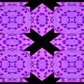 Violet Haze Abstract by Debra Lynch
