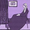 Violet Whistler's Mother by Piotr Dulski