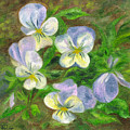 Violets by FT McKinstry