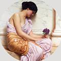 Violets Sweet Violets by John William Godward