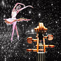Violin And Ballet Dancer Number 1 by Tom Conway
