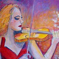 Violin Player by Ingrid  Becker