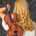 Violin Woman - Id 16218-130709-0128 by S Lurk