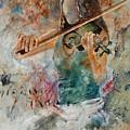 Violinist 56 by Pol Ledent