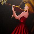 Violinist  by Anh T Chau