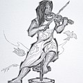 Violinist by Raul Agner