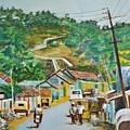 Virajpet Town by Usha Shantharam