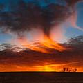Virga Sunset by Leroy McLaughlin