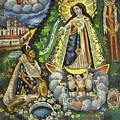 Virgen De Ocotlan by Unknown