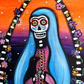Virgen Guadalupe Muertos by Pristine Cartera Turkus