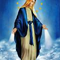 Virgen Milagrosa by Bibi Romer