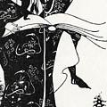 Virgilius The Sorcerer by Aubrey Beardsley